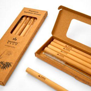 Bamboo Step SIGNATURE Box kit 5 bamboo straws