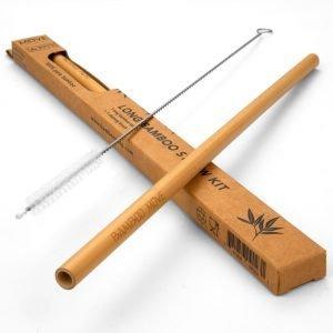 Box Kit 1 long straw - Bamboo MOVE